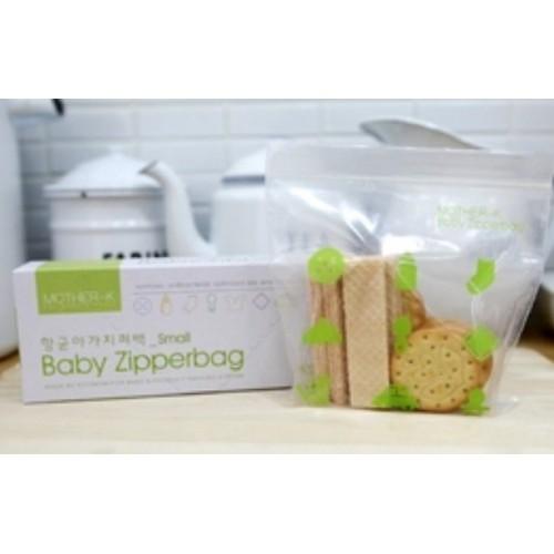 Mother-K 寶寶抗菌儲存袋和寶寶抗菌輕便袋-S