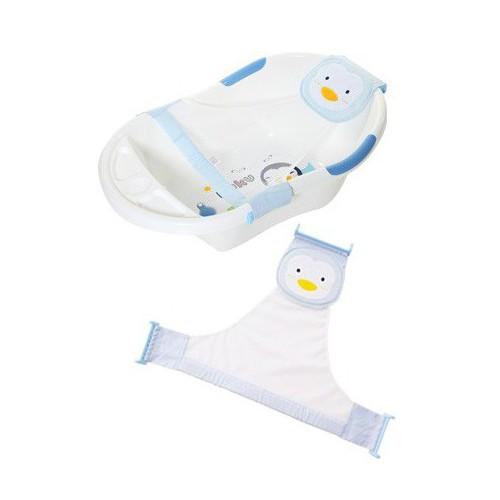 PUKU 藍色企鵝可調式安全浴網
