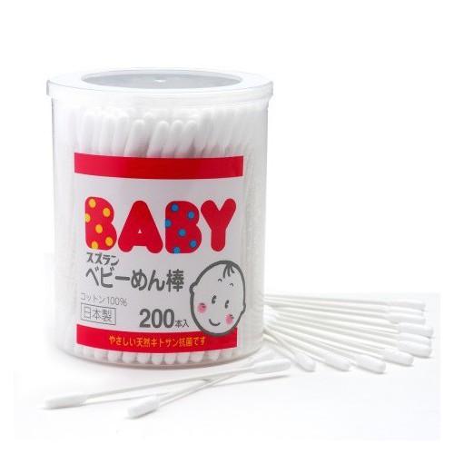 思詩樂嬰兒專用棉棒200本