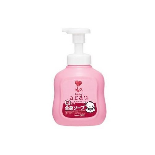 雅樂寶ARAU嬰兒2合1沐浴洗髮泡泡450ml