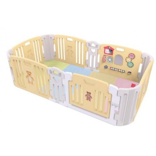 Haenim Toy Premium 寶寶屋+可摺地墊套裝