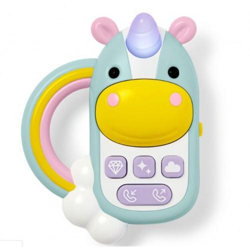 Skip Hop Zoo 可愛動物園獨角獸玩具電話