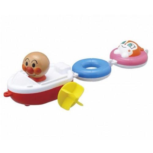 麵包超人小船洗澡玩具