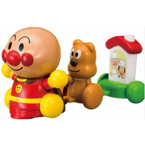 麵包超人電動聲音玩具小火車