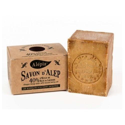 Alepia - 40% 月桂油 + 60% 初榨橄欖油 古皂 190g