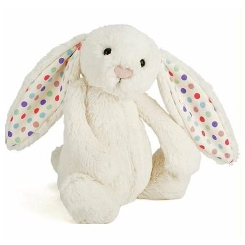 英國JellyCat 小兔碎花毛公仔(中) 31cm