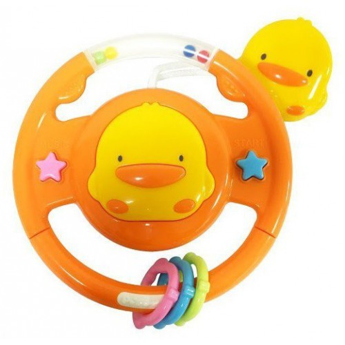 黃色小鴨 冒險寶貝方向盤