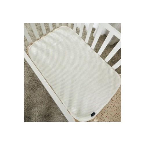 0/3 Baby 嬰兒床竹纖棉抗菌床褥保護墊 (60x100cm)