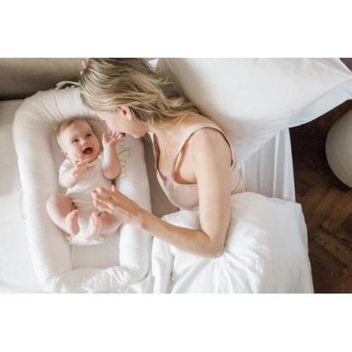 DockATot Deluxe + 便携式嬰兒分隔床 (0-8...