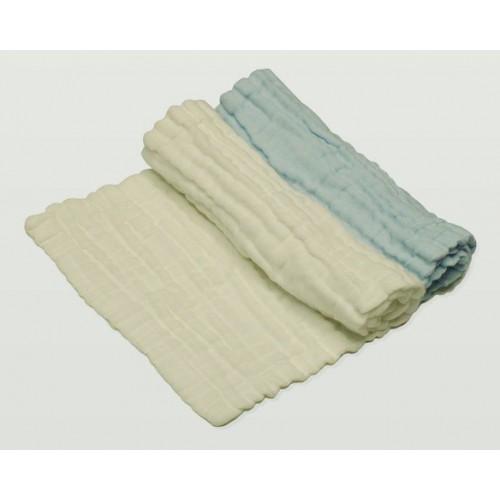 Lenny World 全棉嬰兒紗布面巾 2條裝