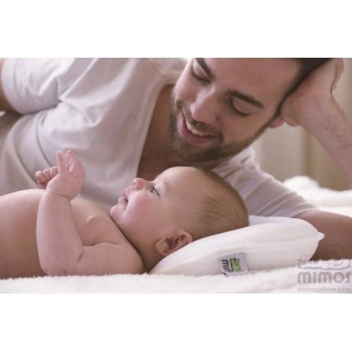 西班牙MIMOS防扁頭透氣網狀嬰兒枕頭-中碼