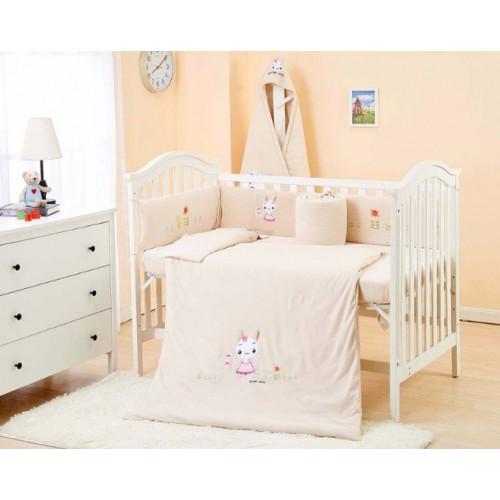 Lenny World 嬰兒針織床品套裝 -聰明小兔