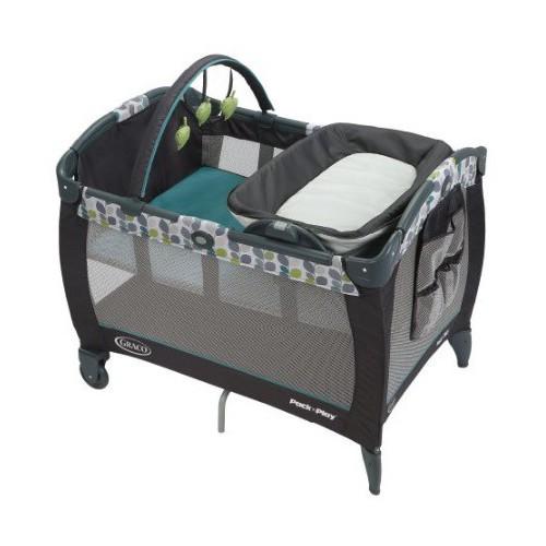 Graco Corralito PNP舒適嬰幼兒安撫遊戲床連雙面尿布更換台...