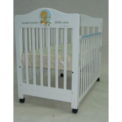 C-MAX  床 27(W) x 47(L) Tweety 二合一嬰兒床白色
