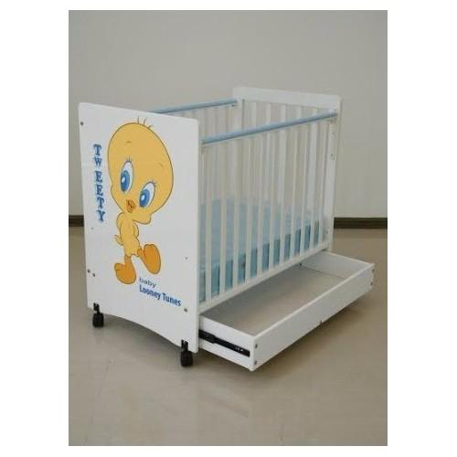C-Max 嬰兒床24W x 40L連櫃桶Tweety