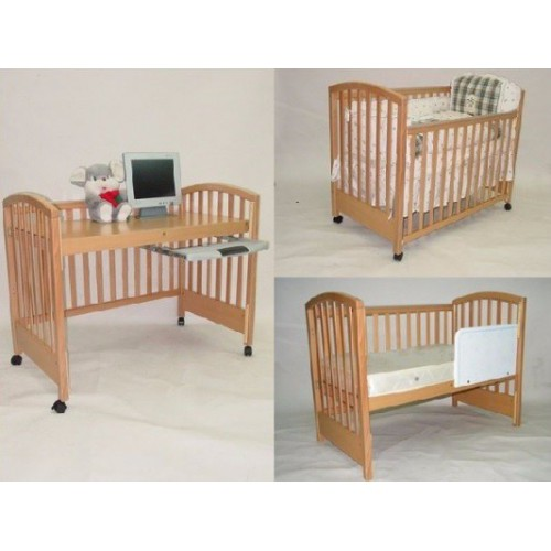 C-Max 三合一嬰兒床 (附送彈簧床褥)