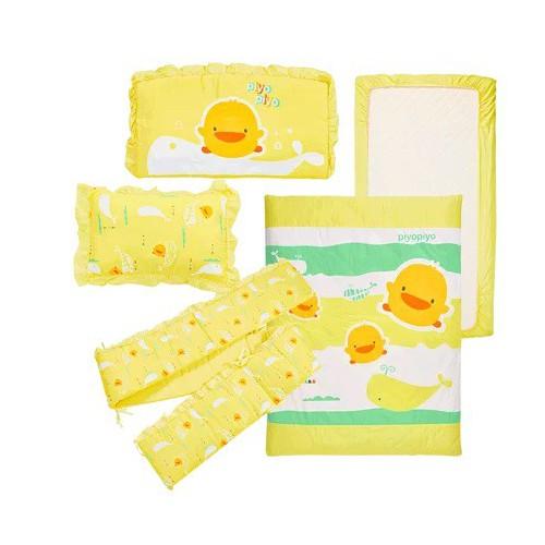 黃色小鴨Piyopiyo七件床組