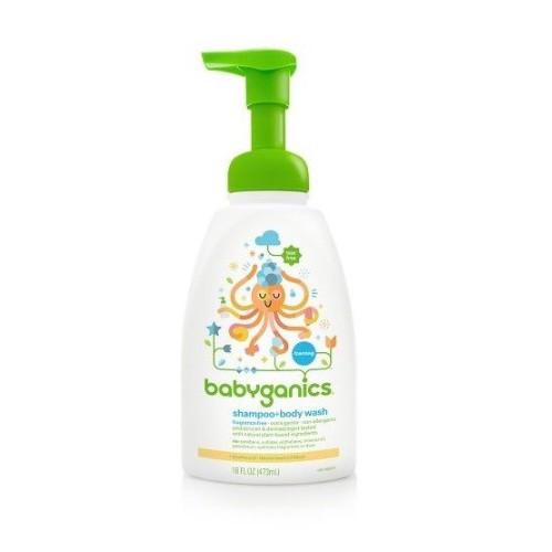 Babyganics 洗髮及沐浴露