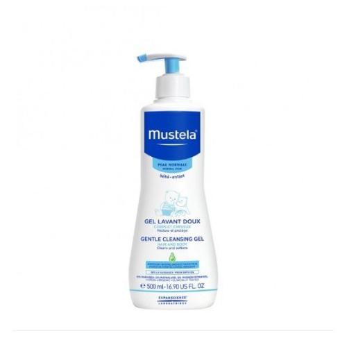 法國MUSTELA 嬰兒二合一髮膚沐浴啫喱-500ml