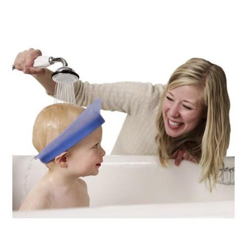 美國 KAIR 專利矽膠氣囊兒童洗頭帽