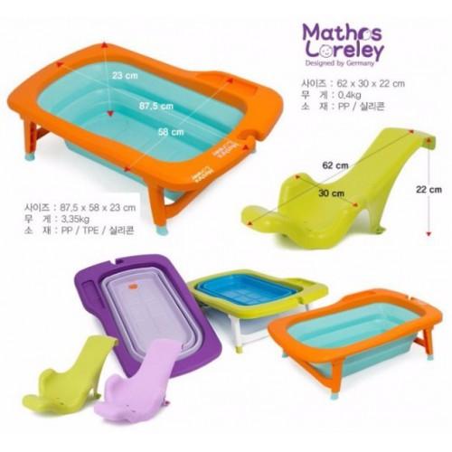 韓國Mathos Loreley 折疊浴盆