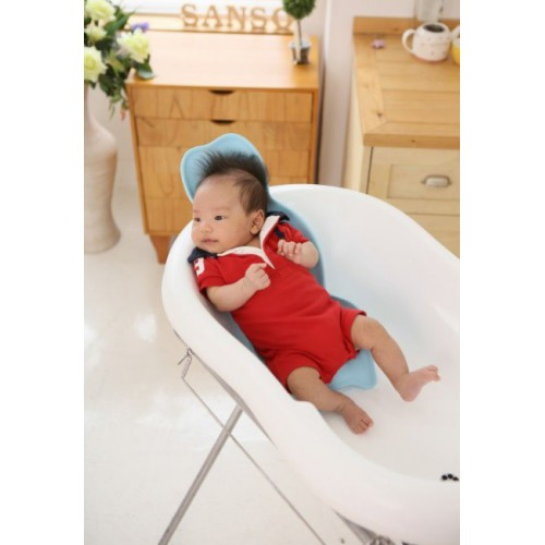 韓國 - Petiten - 尊貴級 - 圓盤式 - 嬰兒軟墊浴盤