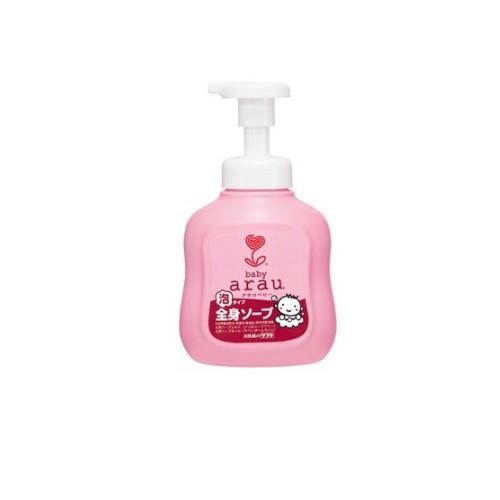 雅樂寶 ARAU 嬰兒2合1沐浴洗髮泡泡450ml