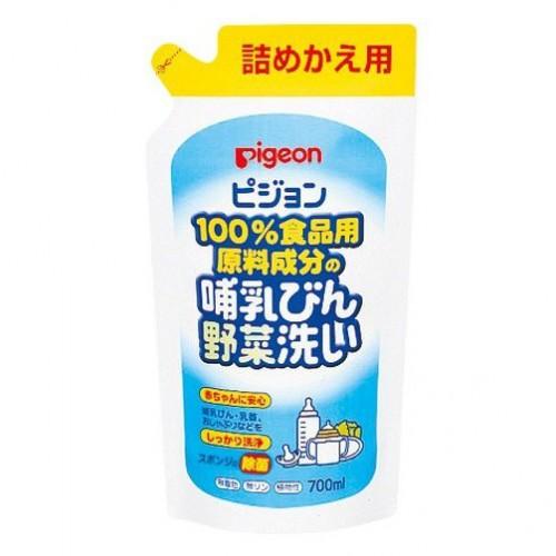 日本Pigeon 奶樽蔬菜清洗液700ML補充裝