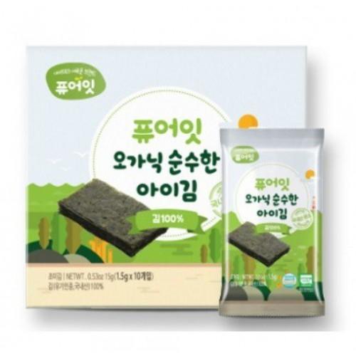 韓國Naebro有機紫菜(原味1.5gx10包)