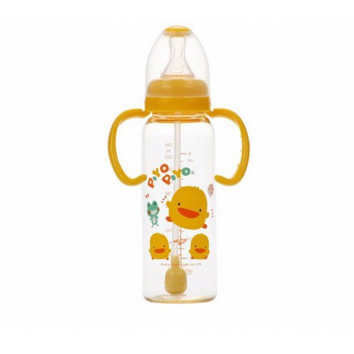 黃色小鴨 兩用奶瓶 (吸管型)240cc