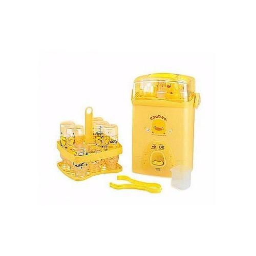 黃色小鴨套裝消毒鍋 (附4大2小奶瓶)