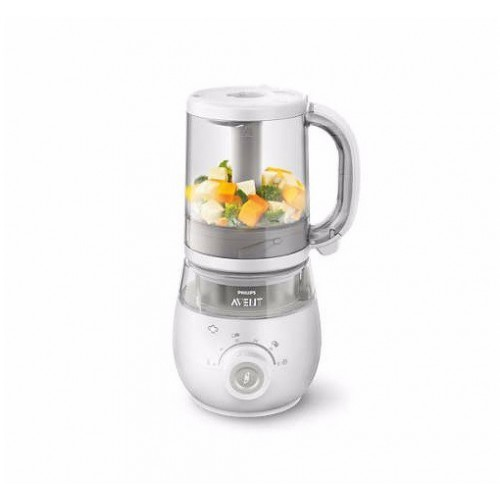 英國Philips AVENT 4合1嬰兒食物蒸煮攪拌器