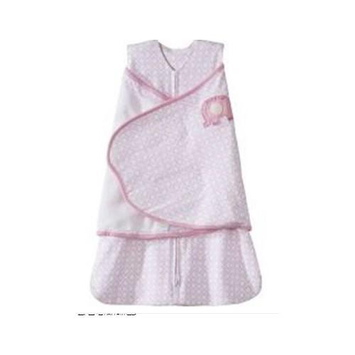 美國HALO 嬰兒包腳睡袋(全棉春夏適用)Pink Diamond, NB