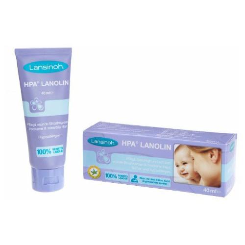 Lansinoh lanolin nipple cream 羊脂膏 - 40ml