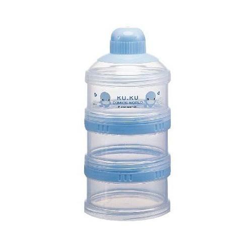 KuKu 三層小奶粉罐