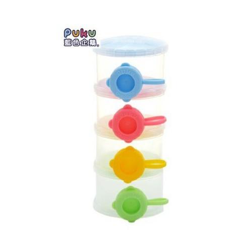 PUKU藍色企鵝-甜甜圈奶粉盒
