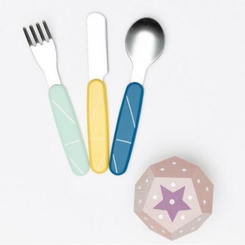 Babymoov 不鏽鋼餵食餐具組