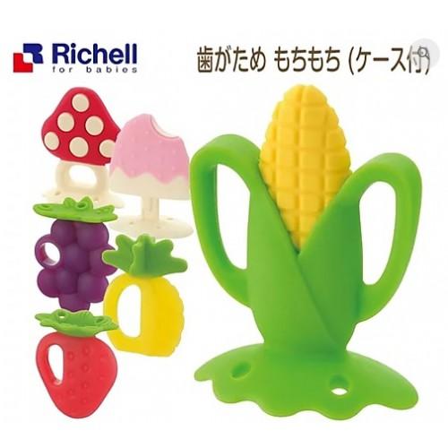 日本Richell 寶寶咬咬系列固齒器