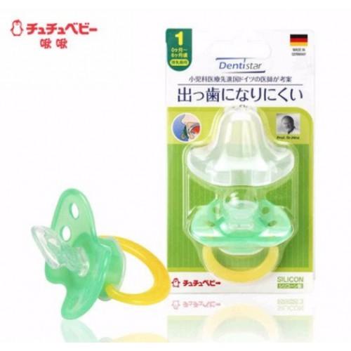 日本Chu Chu Baby Dentistar防哨牙安撫奶嘴(0-6個月)
