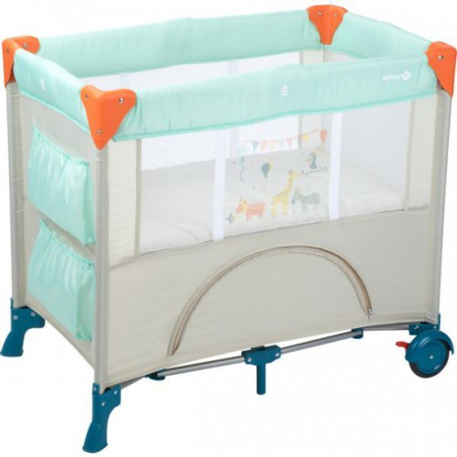 SAFETY 1ST  MINI DREAMS 嬰兒網床(淺藍)