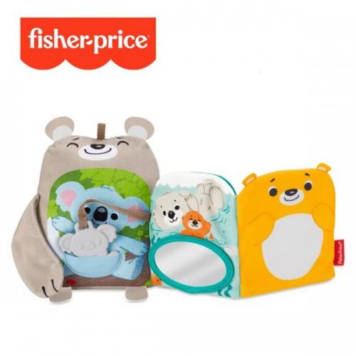 Fisher-Price 可愛動物感官探索布書
