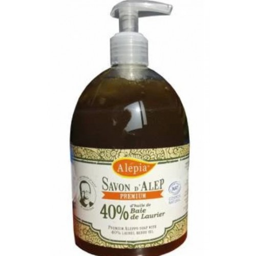 Alepia - 有機橄欖皂液 (含 40% 月桂油) 500ml
