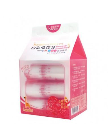 韓國Haram 溫感母乳存儲袋 250ML - 90個裝