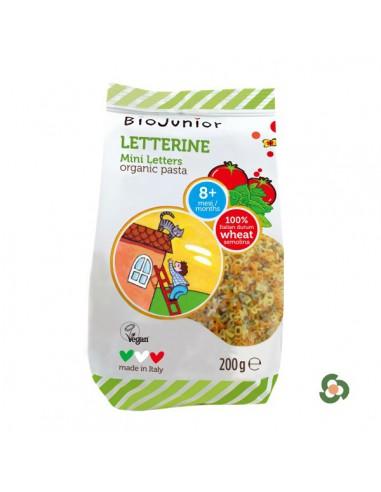 義大利Biojunior蔬菜小字母麺200g(8月以上)