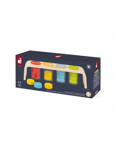 Janod - Essential - 顏色分類遊戲