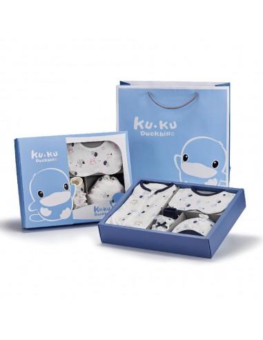 台灣KUKU DUCK 夢想氣球包巾禮盒
