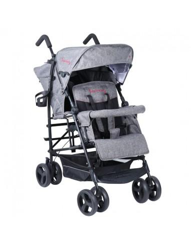 Kinderwagon Hop 雙人嬰兒手推車