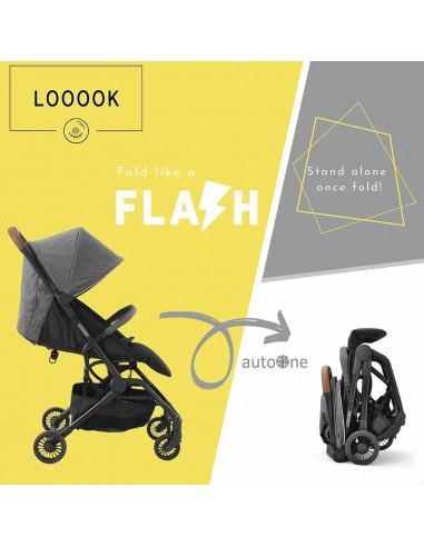 LOOOOK AutoONE 自動收車舒適小巧嬰兒手推車