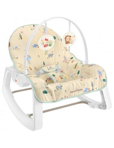 Fisher price X Sanrio baby 兩用震動安撫搖椅