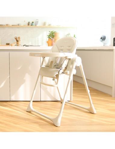 Aguard 2.0 Tosby 7 段式可躺高腳餐椅-奶油白色